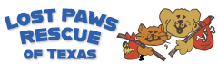 Lost Paws Rescue of Texas - logo