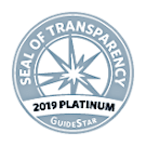 2019 GuideStar Seal of Transparency Badge