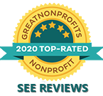 2020 Great NonProfits Top Rated Awards Badge