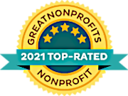 2021 Great NonProfits Top Rated Awards Badge